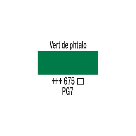 AMSTERDAM ACRYL 120ML 675 VERT PHATLO