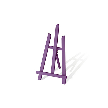CHEVALET DE TABLE LILAS 39X19.5CM