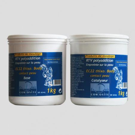 Silicone thixo RTV EC22 pour la peau