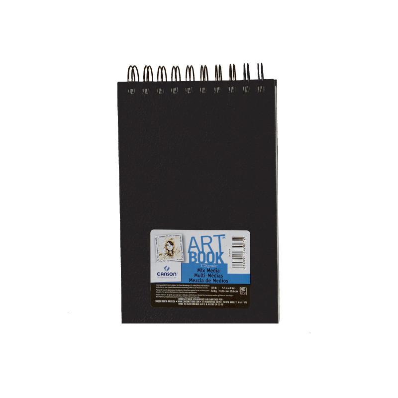 Bloc papier dessin Art book Mix Média - Canson