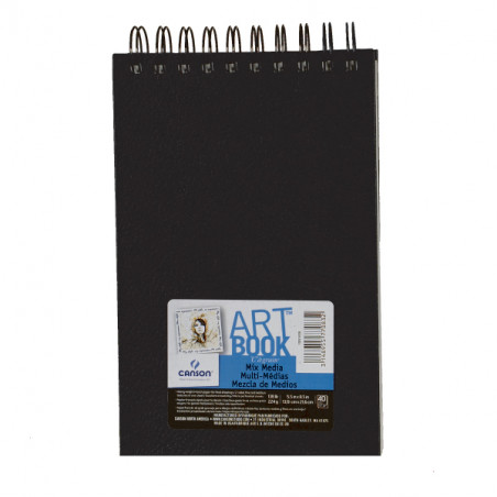 CANSON ART BOOK A5 PAYSAGE 40F