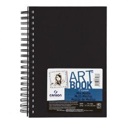 CANSON ART BOOK 17.7X25.4CM 40F