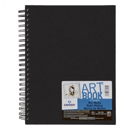 CANSON ART BOOK 22.9X30.5CM 40F