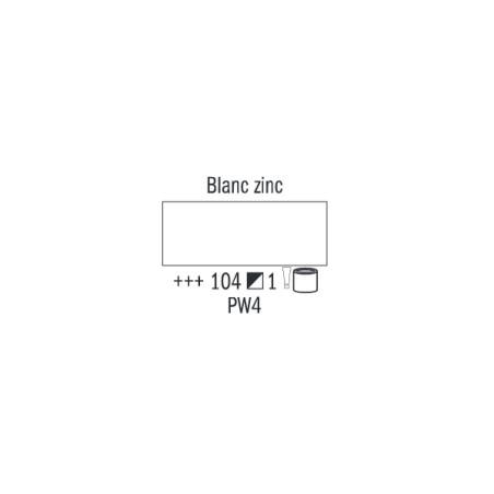 VAN GOGH HUILE 500ML S1 104 BLANC ZINC