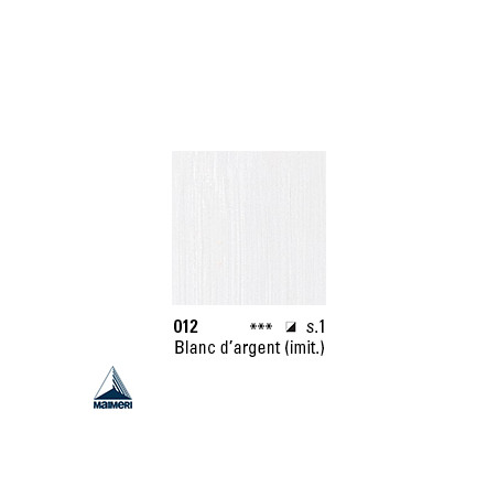ARTISTI HUILE EX FINE S1 012 20ML BLANC D'ARGENT IMIT.