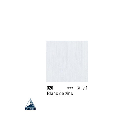 ARTISTI HUILE EX FINE S1 020 20ML BLANC DE ZINC