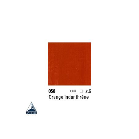 ARTISTI HUILE EX FINE S6 058 20ML ORANGE D'INDANTHRENE