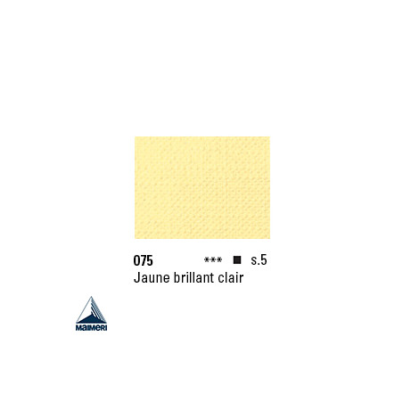 ARTISTI HUILE EX FINE S5 075 20ML JAUNE BRILLANT CLAIR