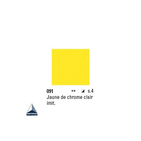 ARTISTI HUILE EX FINE S4 091 20ML JAUNE CHROME CLAIR