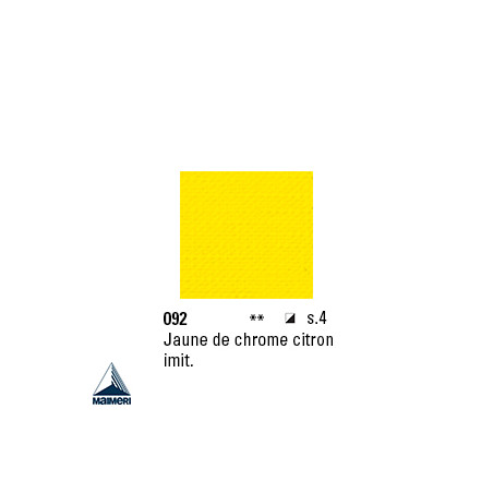 ARTISTI HUILE EX FINE S4 092 20ML JAUNE CHROME CITRON