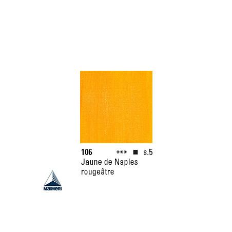 ARTISTI HUILE EX FINE S5 106 20ML JAUNE NAPLES ROUGEATRE