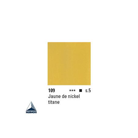 ARTISTI HUILE EX FINE S5 109 20ML JAUNE  NICKEL TITANE