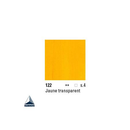 ARTISTI HUILE EX FINE S4 122 20ML JAUNE TRANSPARENT