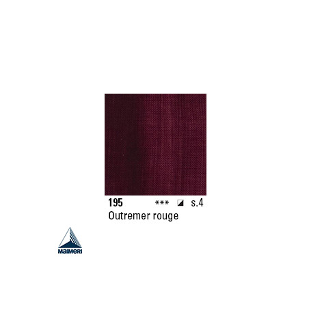 ARTISTI HUILE EX FINE S4 195 20ML OUTREMER ROUGE