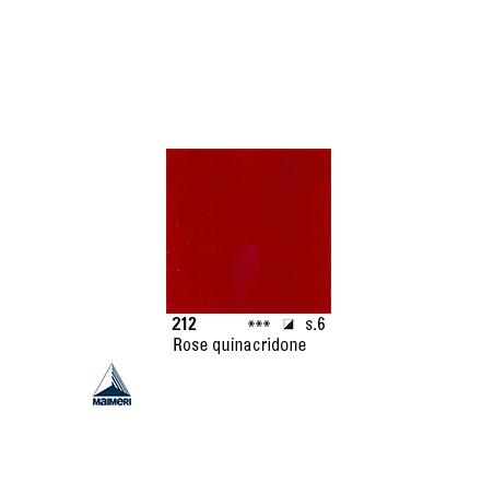 ARTISTI HUILE EX FINE S6 212 20ML ROSE DE QUINACRIDONE