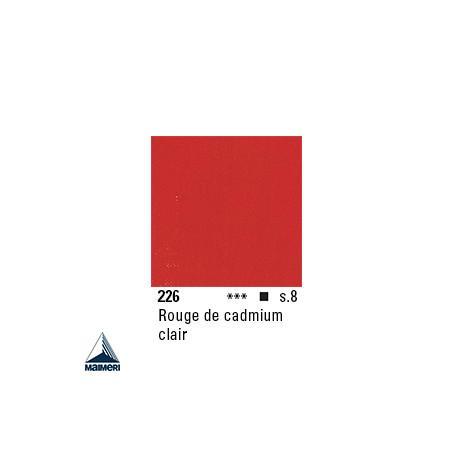 ARTISTI HUILE EX FINE S8 226 20ML ROUGE CADMIUM CLAIR