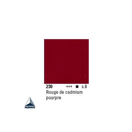 ARTISTI HUILE EX FINE S8 230 20ML ROUGE CADMIUM POURPRE