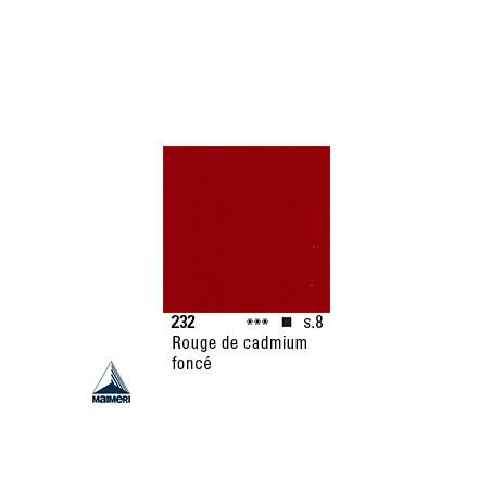 ARTISTI HUILE EX FINE S8 232 20ML ROUGE CADMIUM FONCE