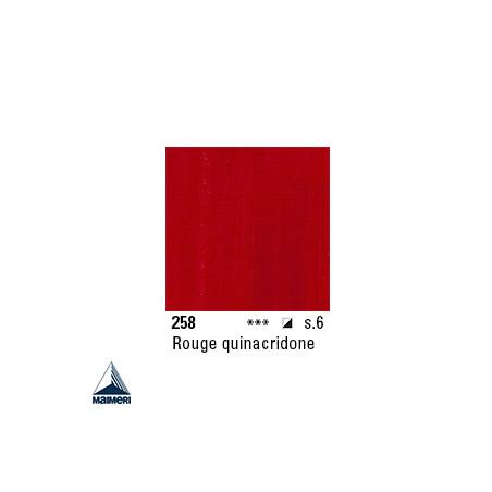 ARTISTI HUILE EX FINE S6 258 20ML ROUGE DE QUINACRIDONE