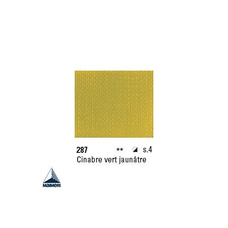 ARTISTI HUILE EX FINE S4 287 20ML CINABRE VERT JAUNATRE