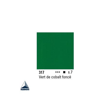 ARTISTI HUILE EX FINE S7 317 20ML VERT DE COBALT FONCE