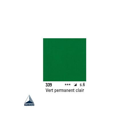 ARTISTI HUILE EX FINE S6 339 20ML VERT PERMANENT CLAIR