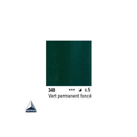 ARTISTI HUILE EX FINE S5 340 20ML VERT PERMANENT FONCE