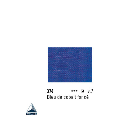 ARTISTI HUILE EX FINE S7 374 20ML BLEU DE COBALT FONCE