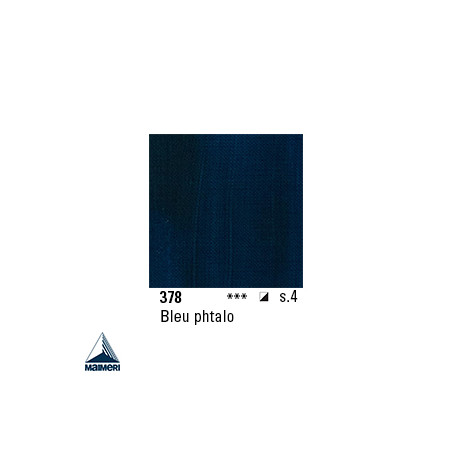 ARTISTI HUILE EX FINE S4 378 20ML BLEU PHTALO