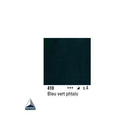 ARTISTI HUILE EX FINE S4 410 20ML BLEU VERT PHTALO
