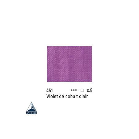 ARTISTI HUILE EX FINE S8 451 20ML VIOLET COBALT CLAIR