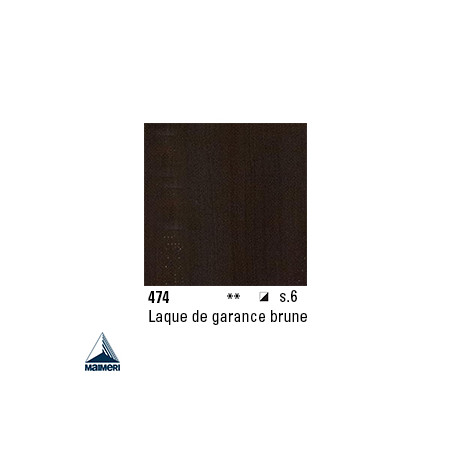 ARTISTI HUILE EX FINE S6 474 20ML LAQUE GARANCE BRUNE