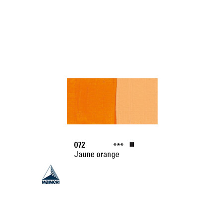 POLYCOLOR 072 ACRYL VINYL 140ML JAUNE ORANGE