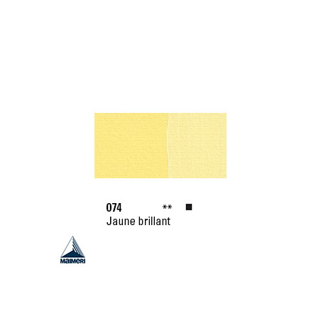 POLYCOLOR 074 ACRYL VINYL 140ML JAUNE BRILLANT