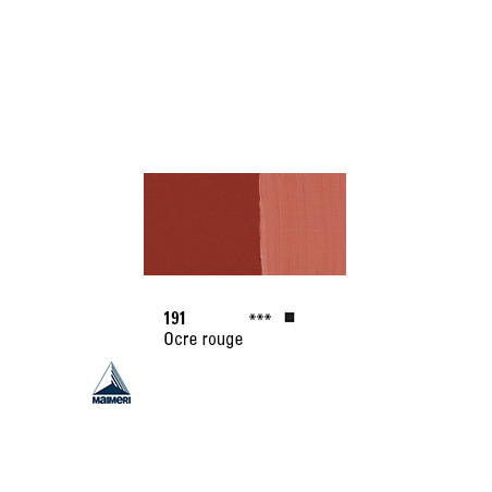 POLYCOLOR 191 ACRYL VINYL 140ML OCRE ROUGE