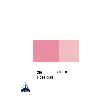 POLYCOLOR 208 ACRYL VINYL 140ML ROSE CLAIR