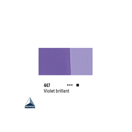 POLYCOLOR 447 ACRYL VINYL 140ML VIOLET BRILLANT
