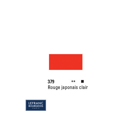 LB HUILE FINE 379 150ML ROUGE JAPONAIS CLAIR