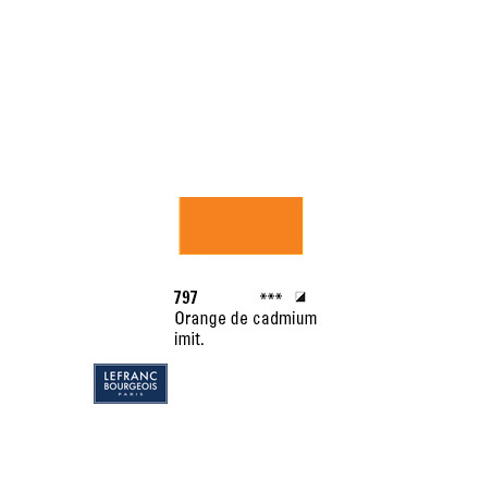LB HUILE FINE 797 150ML ORANGE DE CADMIUM IMITATION