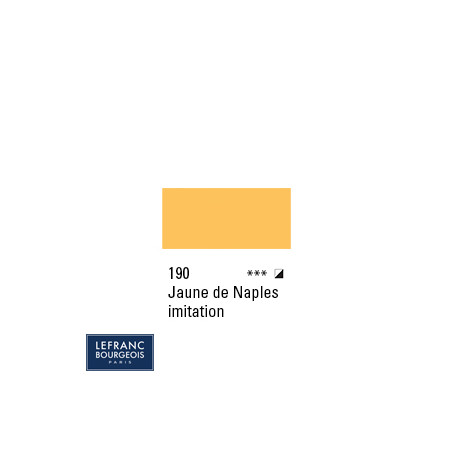 LB HUILE FINE 190 150ML JAUNE DE NAPLES IMITATION