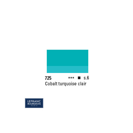 LB HUILE EF S6 725 40ML COBALT TURQUOISE CLAIR