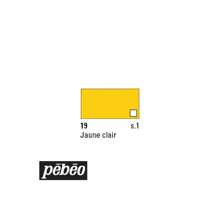 PEBEO COLOREX 45ML 19 JAUNE CLAIR