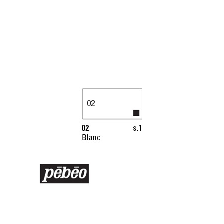 PEBEO COLOREX 45ML 02 BLANC