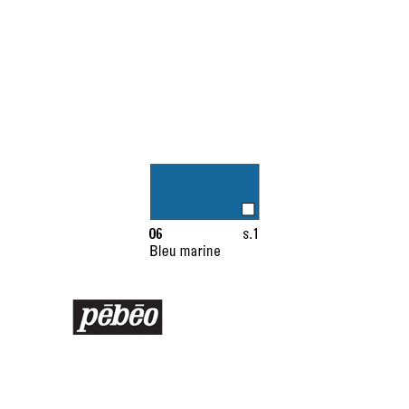 PEBEO COLOREX 45ML 06 BLEU MARINE