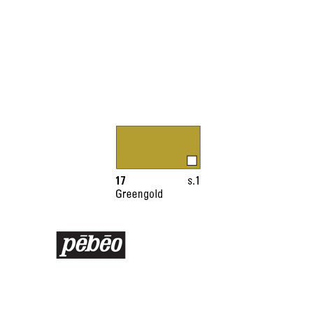 PEBEO COLOREX 45ML 17 GREENGOLD