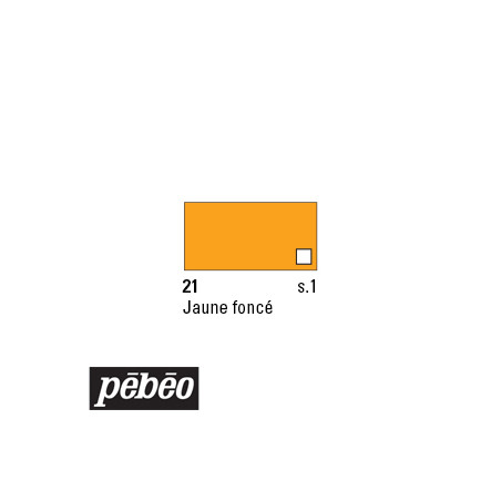 PEBEO COLOREX 45ML 21 JAUNE FONCE
