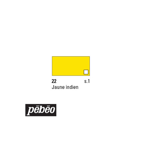 PEBEO COLOREX 45ML 22 JAUNE INDIEN
