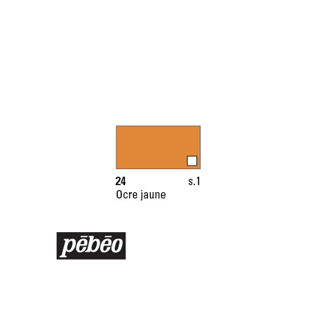 PEBEO COLOREX 45ML 24 OCRE JAUNE