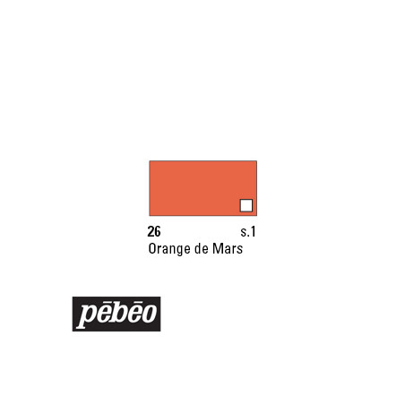 PEBEO COLOREX 45ML 26 ORANGE DE MARS