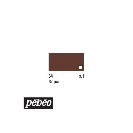 PEBEO COLOREX 45ML 34 SEPIA